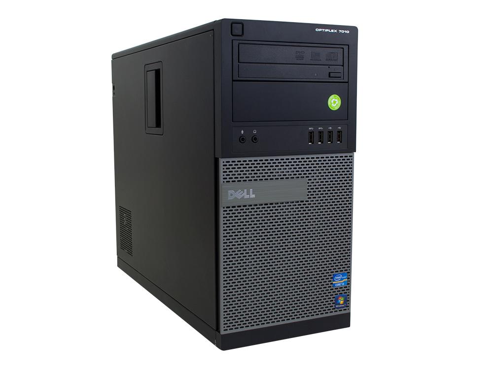 Dell OptiPlex 7010 MT - MT | i5-3570 | 8GB DDR3 | 240GB SSD | DVD-RW | HD 4000 | Win 7 Pro COA | Silver