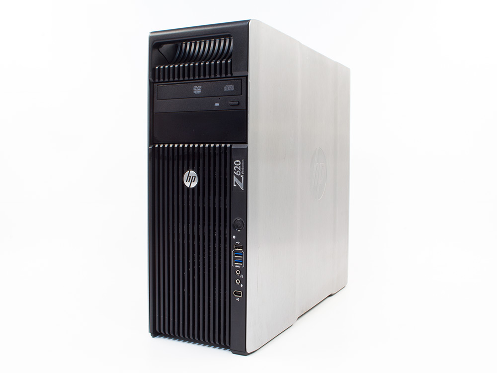 HP Z620 Workstation - Xeon E5-2620 | 64GB DDR3 | 240GB SSD | DVD-ROM | Quadro K4000 3GB | MAR Win 10 Pro | Silver