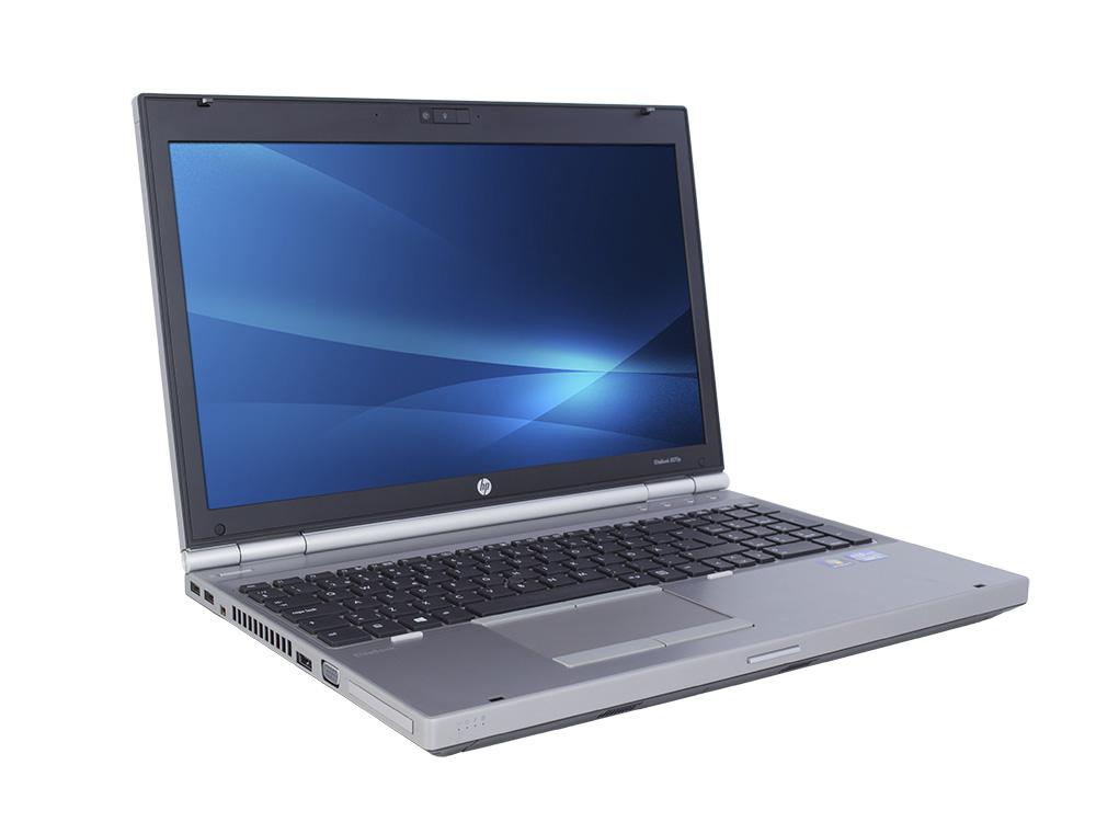 "HP EliteBook 8570p - i7-3520M | 8GB DDR3 | 128GB SSD | 15,6"" | 1366 x 768 | NumPad | Webcam | HD 4000 | Win 7 Pro COA | Silver"