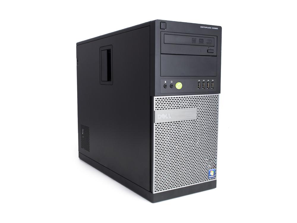 Dell OptiPlex 9020 MT - MT   i5-4690   8GB DDR3   256GB SSD   DVD-RW   HD 4600   Win 10 Pro   Silver