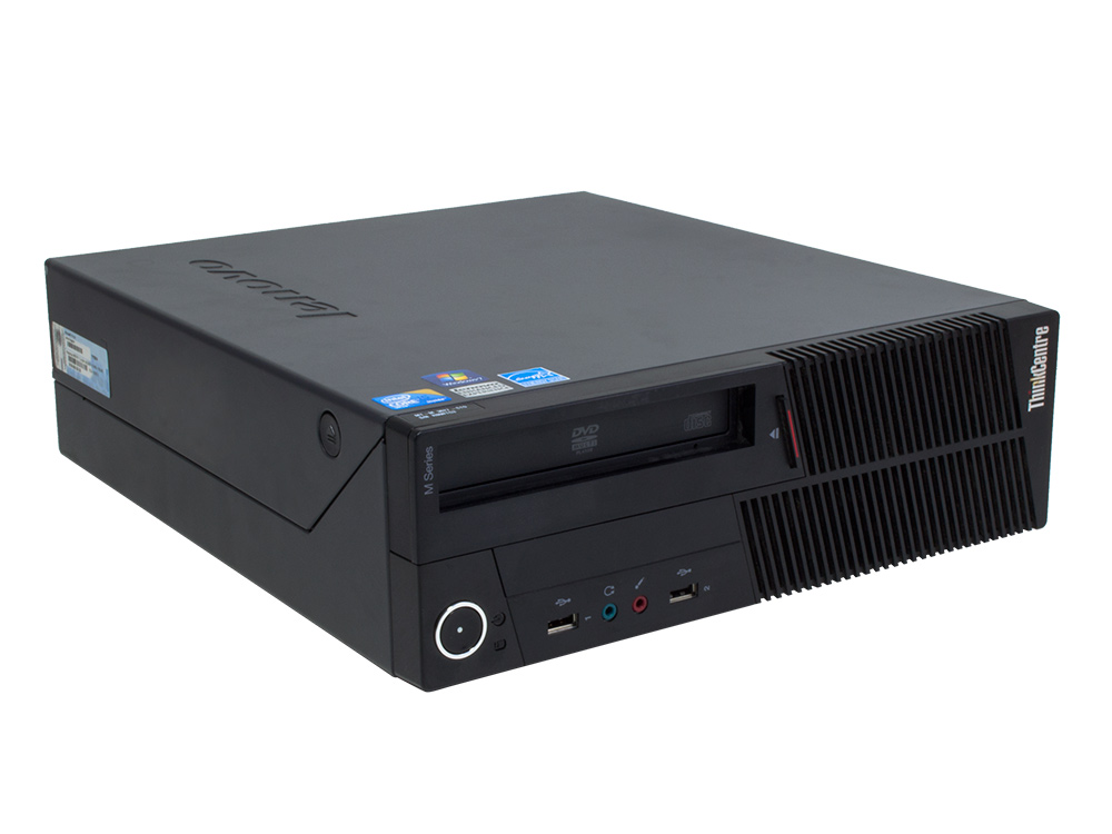 "Lenovo ThinkCentre M90p SFF - SFF   Pentium G6950   4GB DDR3   250GB HDD 3,5""   DVD-RW   Intel HD   Win 7 Pro COA   Gold"