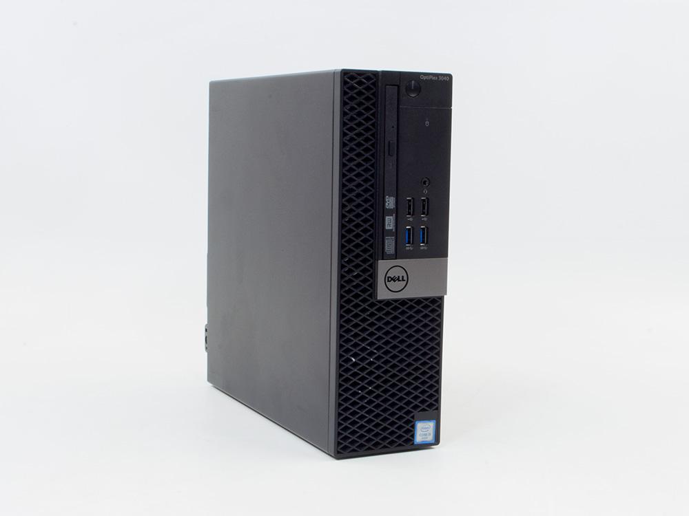 """Dell OptiPlex 3040 SFF - SFF   i3-6100   4GB DDR3   500GB HDD 2,5""""   DVD-RW   HD 530   Win 7 Pro COA   HDMI   Silver"""