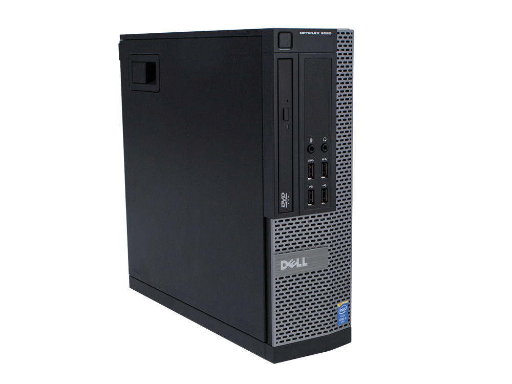 "Dell OptiPlex 9020 SFF - SFF   i5-4590   4GB DDR3   500GB HDD 3,5""   DVD-RW   HD 4600   Win 10 Pro   Silver"