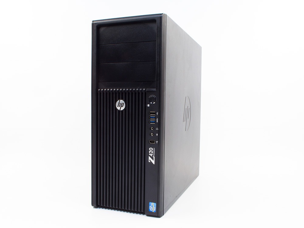 "HP Z420 Workstation - Xeon E5-1603   8GB DDR3   500GB HDD 3,5""   DVD-RW   GTS 450   Win 7 Pro COA   Silver"