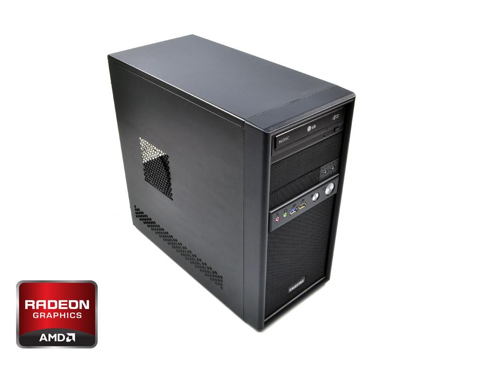 "Furbify GAMER Tower i5 ""Warrior"" + RX 470 8GB - MT   i5-4570   8GB DDR3   240GB SSD   320GB HDD 3,5""   DVD-RW   Radeon RX470 8GB   Win 7 Pro COA   HDMI   Silver   ATX 500W"