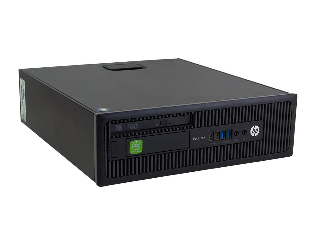 "HP ProDesk 600 G1 SFF - SFF | i7-4790 | 8GB DDR3 | 500GB HDD 3,5"" | DVD-ROM | HD 4600 | Win 10 Pro | Silver"