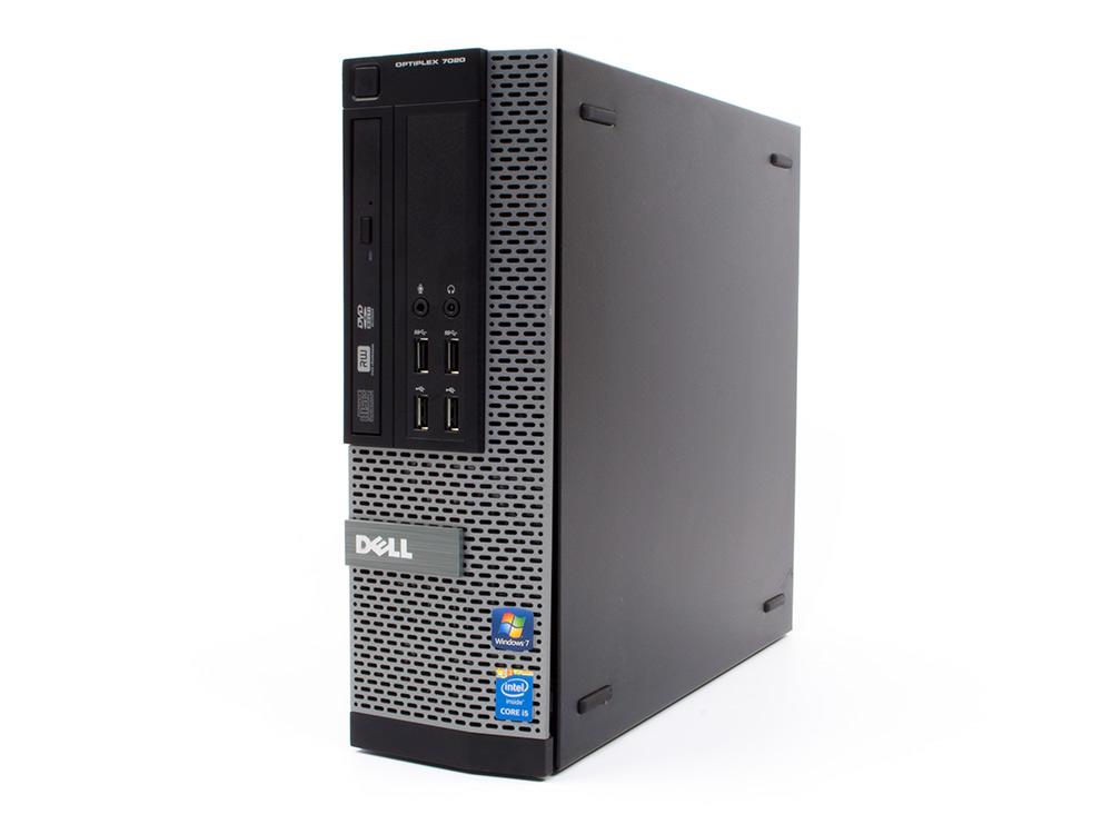 Dell OptiPlex 7020 SFF - SFF | i7-4790 | 4GB DDR3 | 240GB SSD | DVD-ROM | HD 4600 | Win 10 Pro | Gold