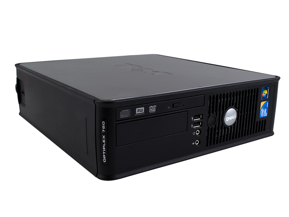 Dell OptiPlex 780 SFF - SFF | C2D E7500 | 4GB DDR3 | 250GB HDD 3,5"
