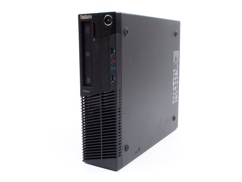 Lenovo Thinkcentre M91P SFF - SFF   i5-2400   8GB DDR3   120GB SSD   DVD-RW   Win 7 Pro COA   Silver