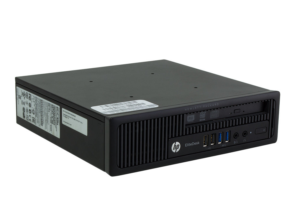 HP EliteDesk 800 G1 USDT - USDT | i5-4570S | 8GB DDR3 | 240GB SSD | DVD-RW | HD 4600 | Win 10 Pro | Bronze
