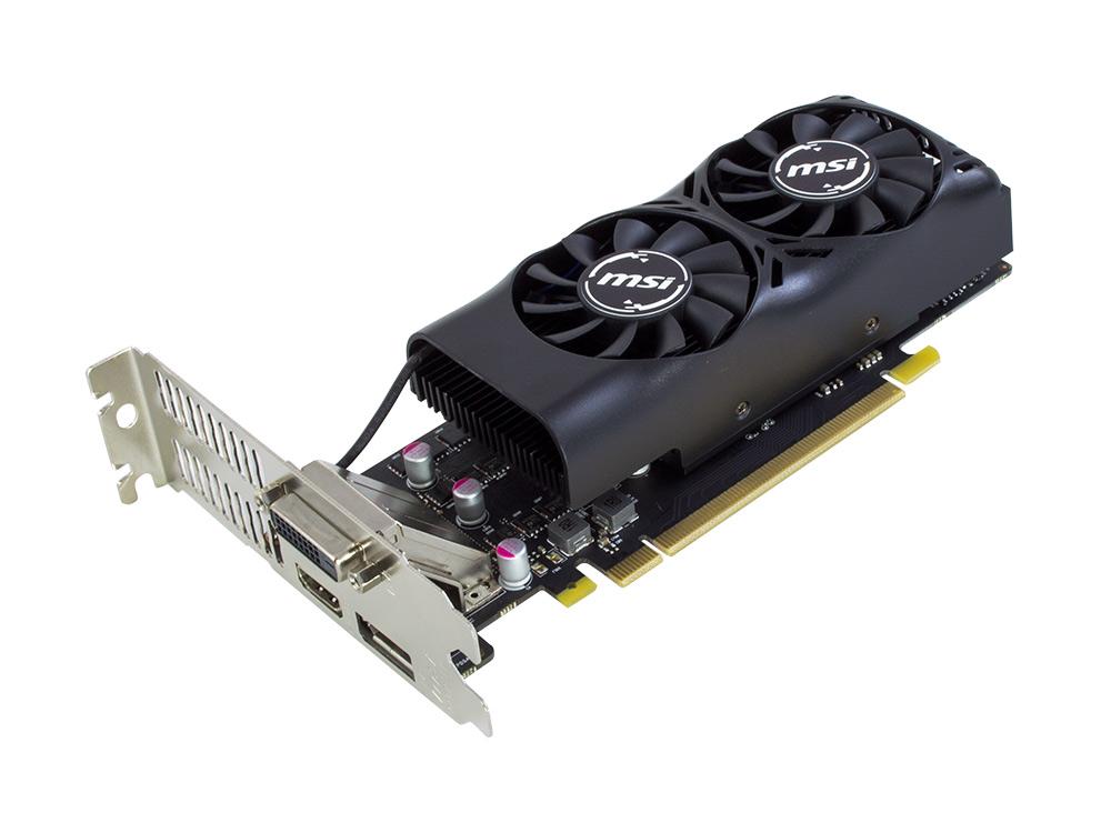 Grafická karta GIGABYTE GTX 1050 OC Low Profile 2GB - DVI   DP   HDMI   2 GB   GDDR5   PCI Express x16   128-bit   NEW