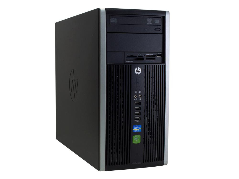 HP Compaq 6300 Pro MT - MT | i5-3470 | 4GB DDR3 | 120GB SSD | DVD-RW | HD 2500 | Win 7 Pro COA | Silver