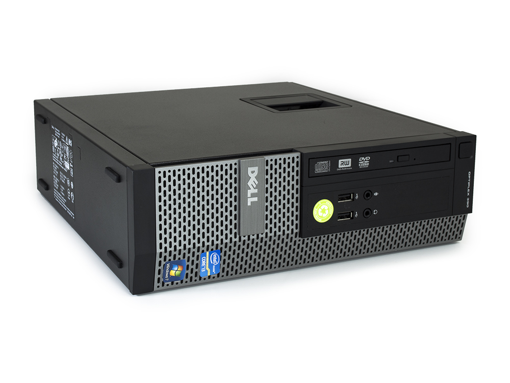 Dell OptiPlex 390 SFF - SFF | i3-2120 | 4GB DDR3 | 128GB SSD | DVD-ROM | HD 2000 | Win 7 Pro COA | HDMI | Silver