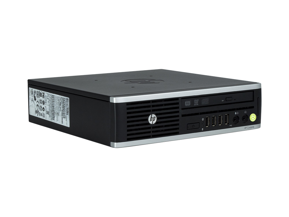 "HP Compaq 8000 Elite USDT - USDT | C2D E8400 | 4GB DDR3 | 250GB HDD 3,5"" | DVD-RW | GMA 4500 | Win 7 Pro COA | A-"