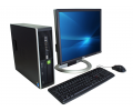 PC zostava HP Compaq 6005 Pro SFF + Dell 1908FP