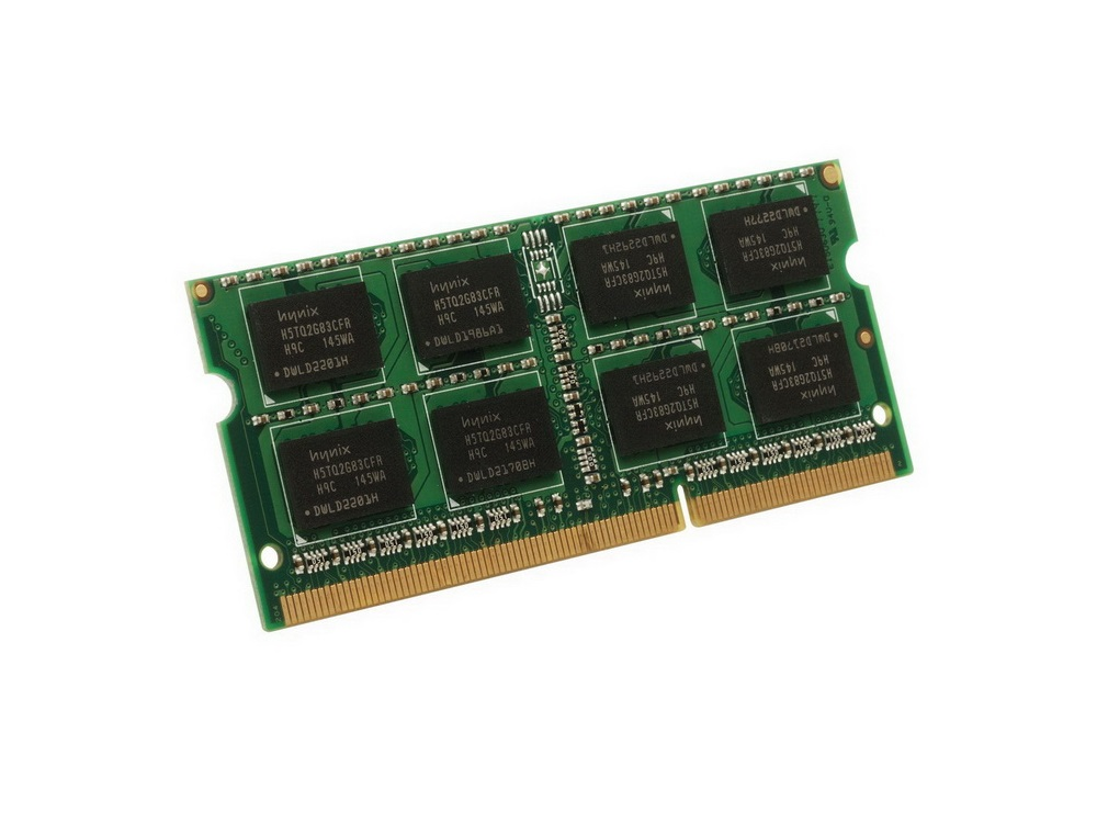 Pamäť RAM 2GB DDR3 SO-DIMM 1066MHz - Gold