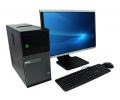 PC zostava DELL OptiPlex 790 MT + HP Compaq LA2405x