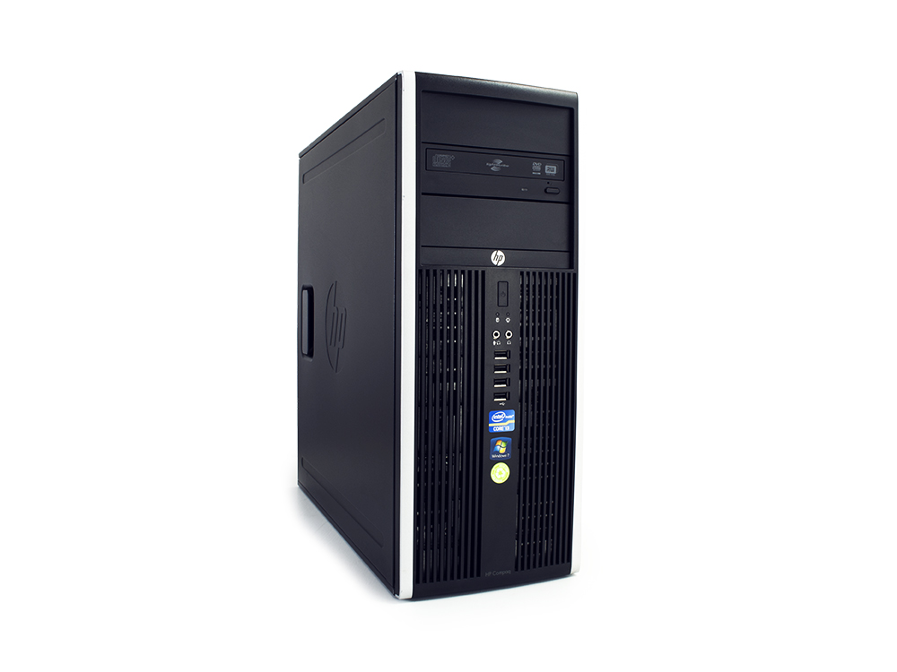 """HP Compaq 8200 Elite CMT - CMT   i5-2400   4GB DDR3   500GB HDD 3,5""""   DVD-ROM   HD 2000   Win 7 Pro COA   B"""
