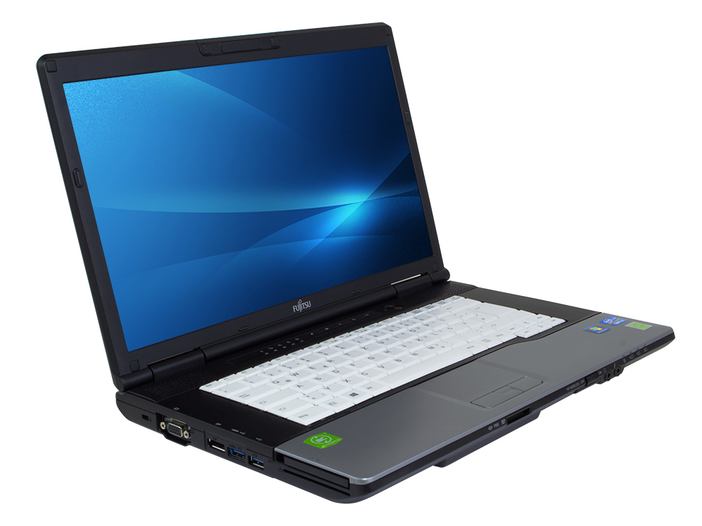 "FUJITSU LifeBook E752 - i3-3110M   8GB DDR3   320GB HDD 2,5""   DVD-RW   14""   1366 x 768   HD 4000   Win 7 Pro COA   A"